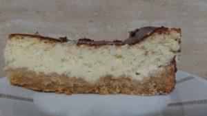 Pyszny sernik z białą czekoladą